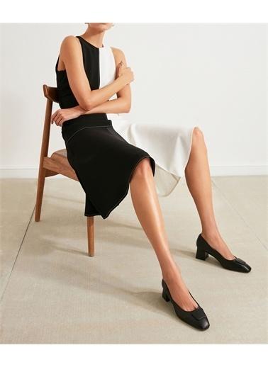 Ipekyol Kadın Topuklu Klasik Ayakkabı IS1210031009001 Siyah